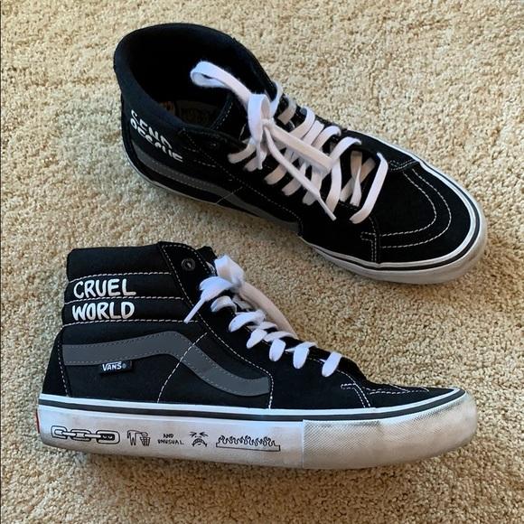 Vans Shoes | Cruel World Vans | Poshmark